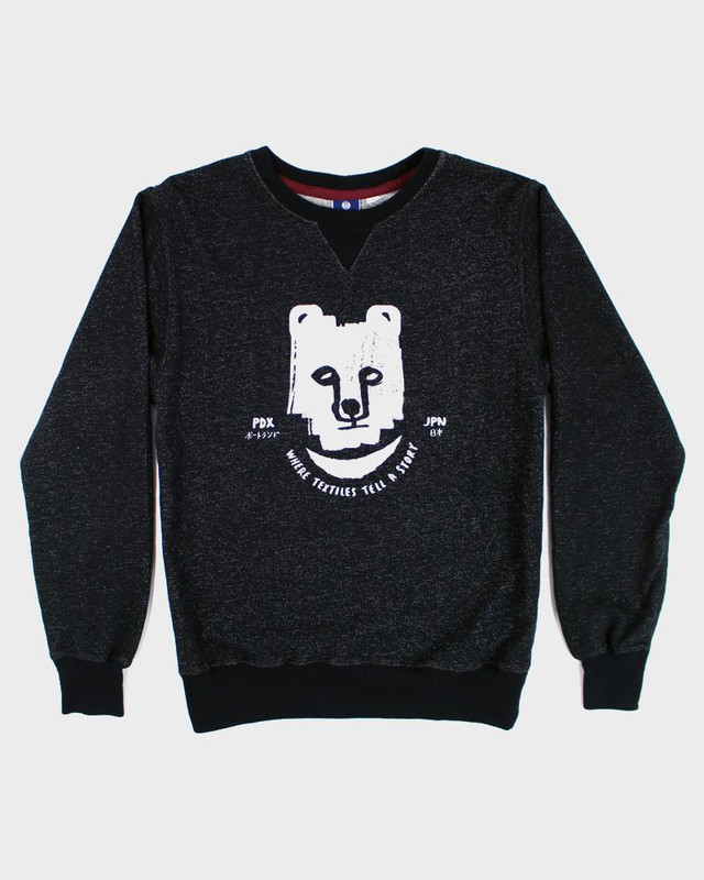 Printed Kuma Sweatshirt, Black