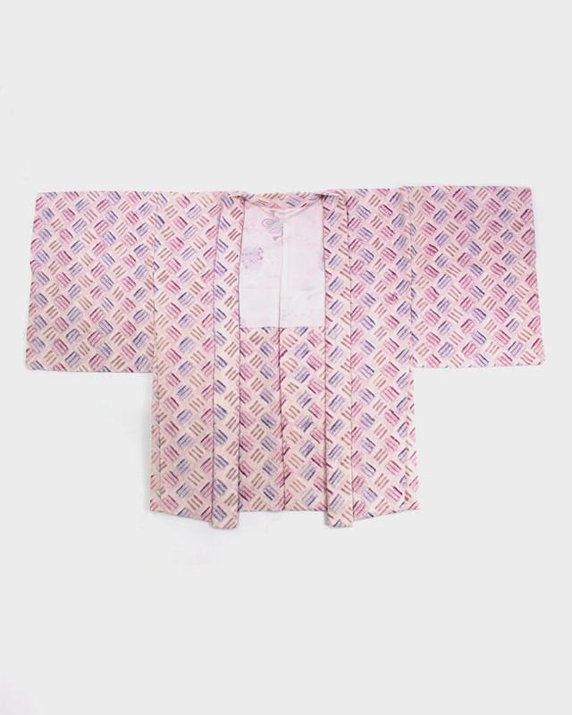 Vintage Kimono Shibori Jacket, Sankuzushi