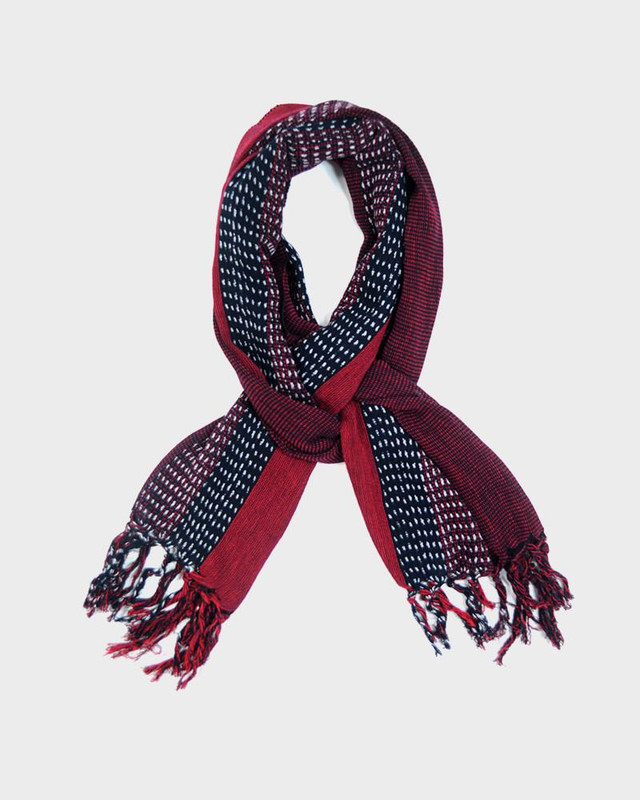 Karu-Ori Scarf, Red Split Dash