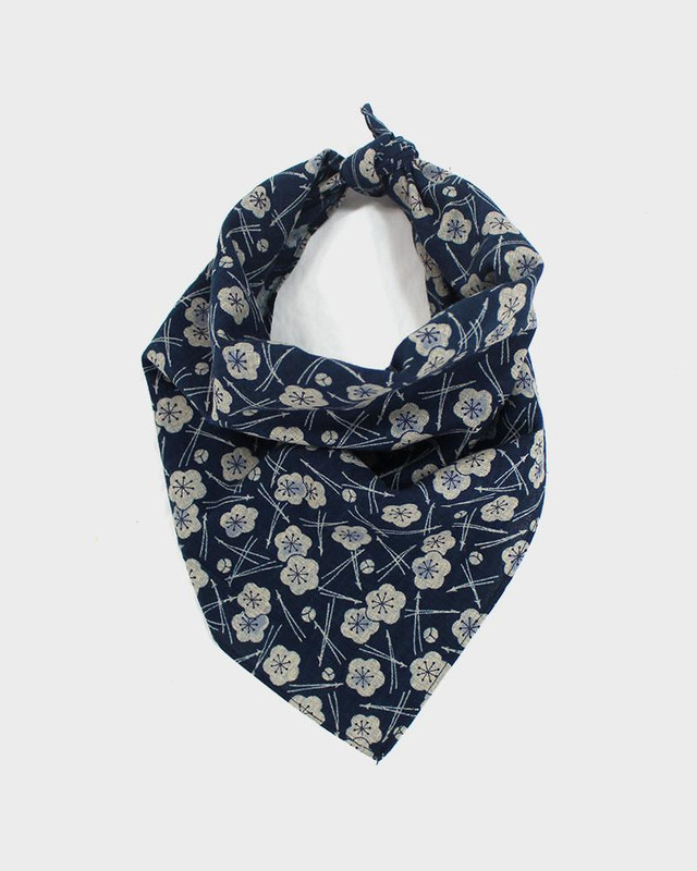 Bandana, Indigo Plum and Pine