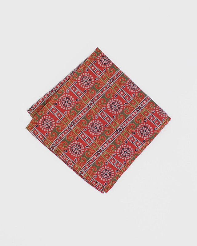 Pocket Square, Kimono Ornate Chrysanthemum