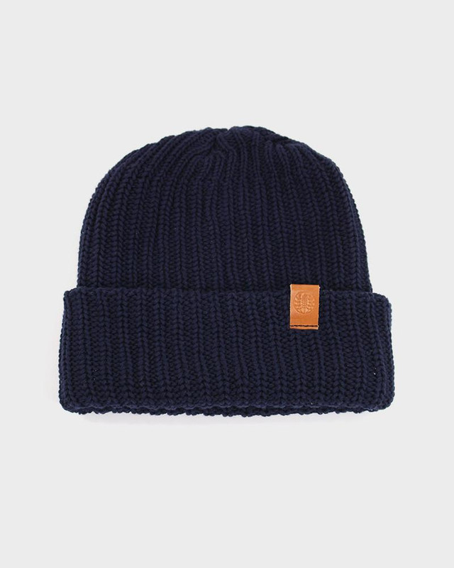Knit Cap, Dark Navy