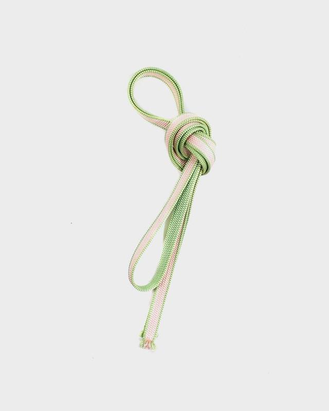 Vintage Obijime Belt, Light Green and Pale Pink