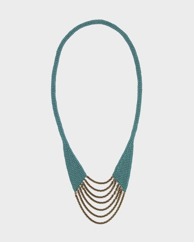 Boet Necklace, Horseshoe Ocean Linen