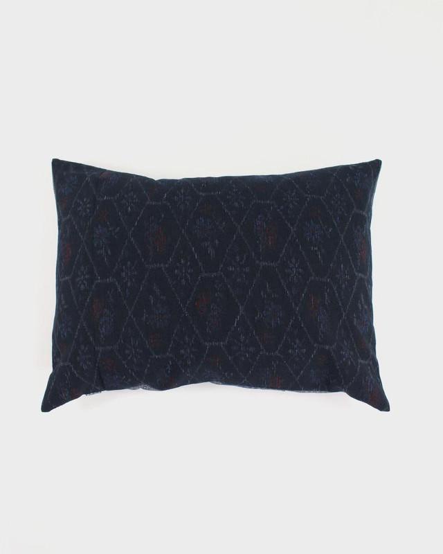 Pillow, Black Kasuri