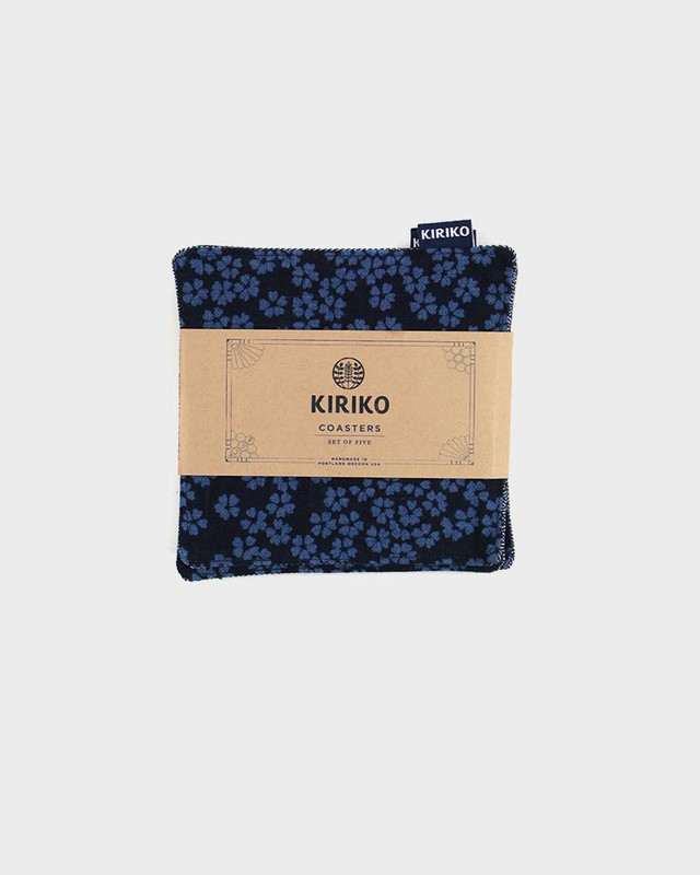 Coaster x 5, Blue Sakura
