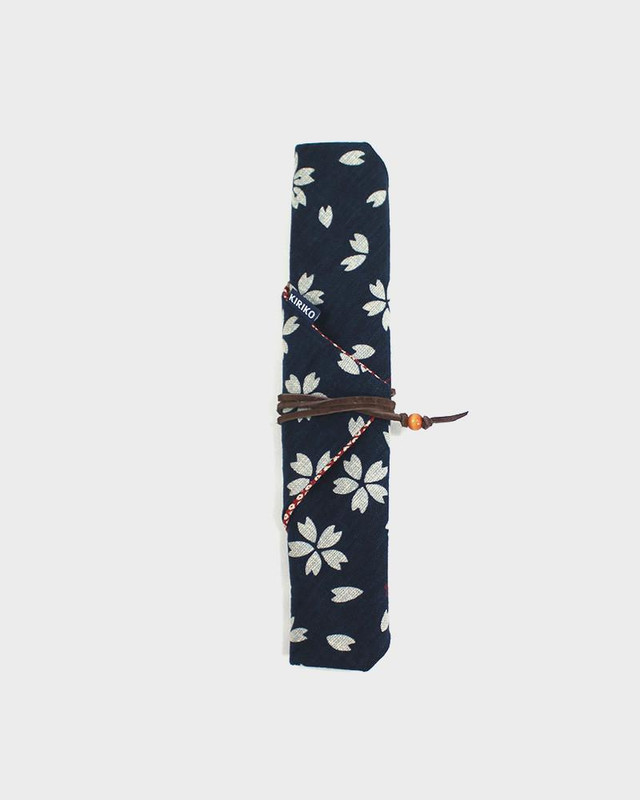 Chopstick Case, Indigo Sakura