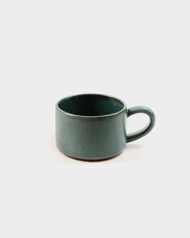 Dina Stoneware Mug, Teal