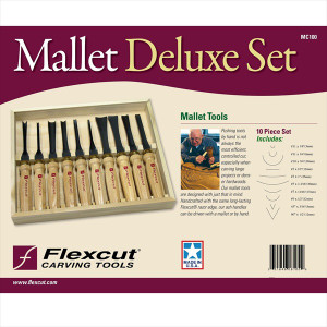 Flexcut MC100 10pc Deluxe Set