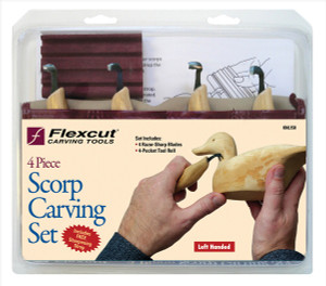 Flexcut KNL150 Left-Handed Scorp Set