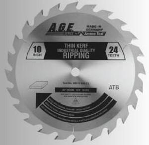 """Amana MD10-240TB 10"""" x 24t ATB Thin Kerf Rip Blade 5/8 Bore"""