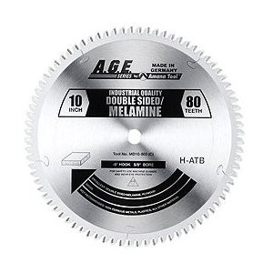 "Amana MD10-803C 10"" x 80t H-ATB Melamine Blade 5/8 Bore"
