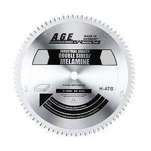 "Amana MD12-963C 12"" x 96t H-ATB Melamine Blade 1"" Bore"