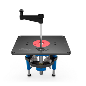 Kreg precision benchtop router table at woodworkers emporium kreg prs500 precision router lift keyboard keysfo Gallery