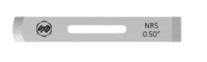 Stuart Batty 1/2 inch Domed/Straight Negative Rake Scraper Blade
