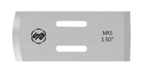Stuart Batty 1.5 inch Domed/Straight Negative Rake Scraper Blade