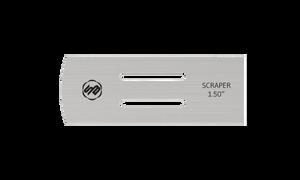 Stuart Batty 1.5 inch Domed/Straight Conventional Scraper Blade