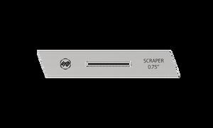 Stuart Batty 3/4 inch Left Skewed Conventional Scraper Blade