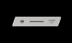 Stuart Batty 3/4 inch Right Skewed Conventional Scraper Blade