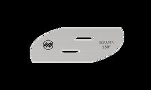Stuart Batty 1.5 inch Swept Back Right Conventional Scraper Blade
