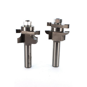 Whiteside 6001 Round Stile and Rail Router Bit Set 1/2 Shank