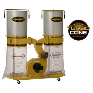 Powermatic PM1900TX-CK1 Dust Collector with 2-Micron Canister