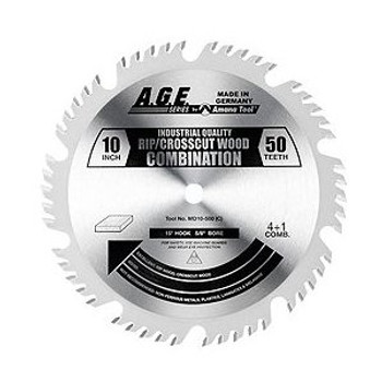 """Amana MD10-500C 10"""" x 50t ATBR Combination Blade 5/8 Bore"""
