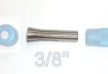 "Carter 3/8"" Collet for AccuRight Series 175 quick lock tool handle"