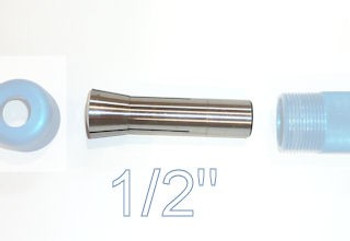 "Carter 1/2"" Collet for AccuRight Series 175 quick lock tool handle"