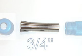 "Carter 3/4"" Collet for AccuRight Series 175 quick lock tool handle"