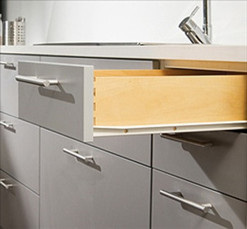 "Harn 18"" 3/4 Extension Euro Drawer Slides"