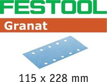 Festool Granat P220 Grit Abrasives for RS 2 E Sander