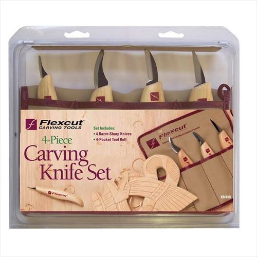 Flexcut KN100 Carving Knife Set