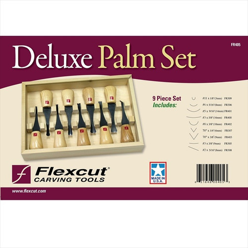 Flexcut FR405 Deluxe Palm Set