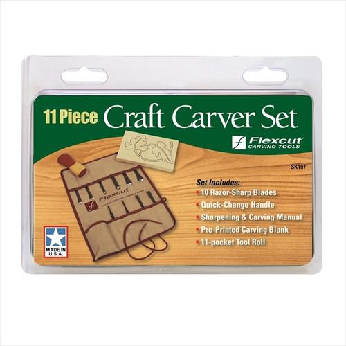 Flexcut SK107 11pc Craft Carver Set