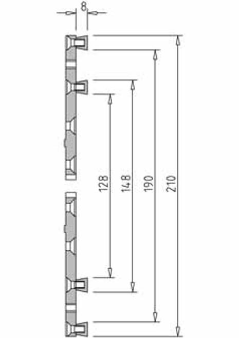 Vicmarc V00686 VM120 Multipurpose Jaw dimensions
