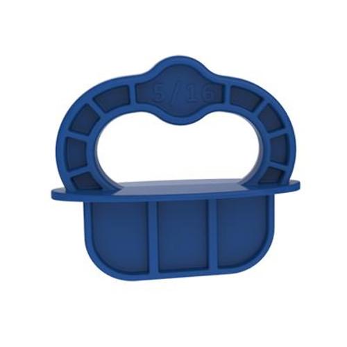 "Kreg Deck Jig Spacer Rings - Blue - 5/16"" - 12 Pk"