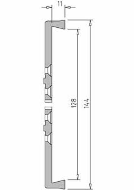 Vicmarc V00643 VM100 Dovetail Jaw dimensions