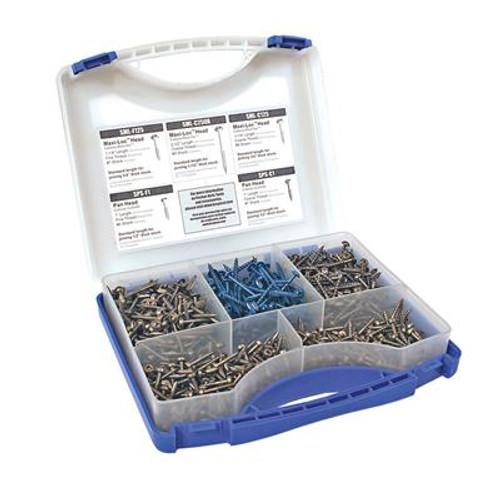 Kreg Pocket-Hole Screw Kit (675 of 5 most used screws)