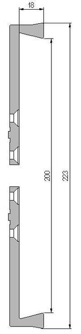 Vicmarc V00682 VM120 223mm Dovetail Jaw dimensions
