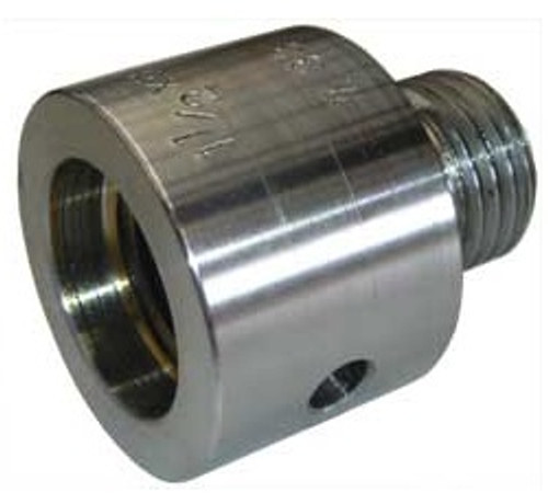 """Vicmarc Spindle Adapter 1"""" x 8tpi to 3/4"""" x 16tpi"""