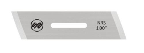 Stuart Batty 1 inch Skewed Negative Rake Scraper Blade