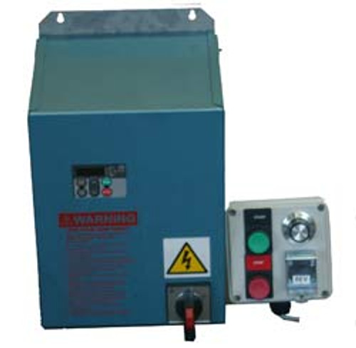 Seperate electronic variable speed box  and magnetic switch box