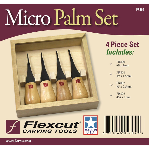 Flexcut FR804 Micro Palm Set
