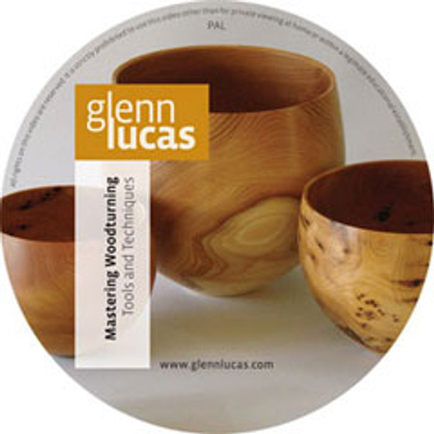 DVD Mastering Woodturning with Glenn Lucas - Tools and Techniques