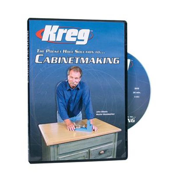 Kreg DVD - Pocket Hole Solution to CABINETMAKING