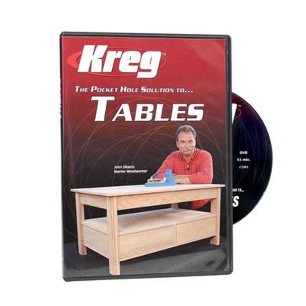 Kreg DVD - Pocket Hole Solution to TABLES
