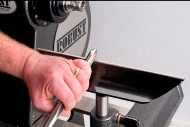 "Robust 6"" Comfort Tool Rest 1"" Post"