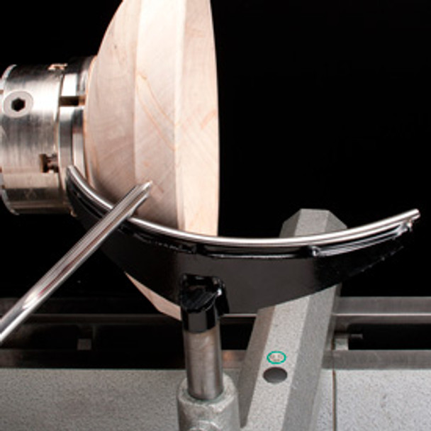 """Robust 12"""" Exterior Curved Tool Rest 1"""" Post"""