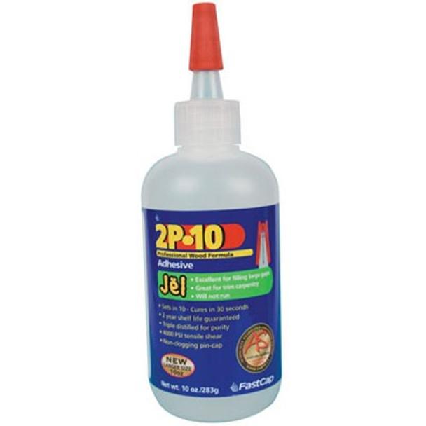 Fastcap 2P-10 Jel CA Glue 10 Oz